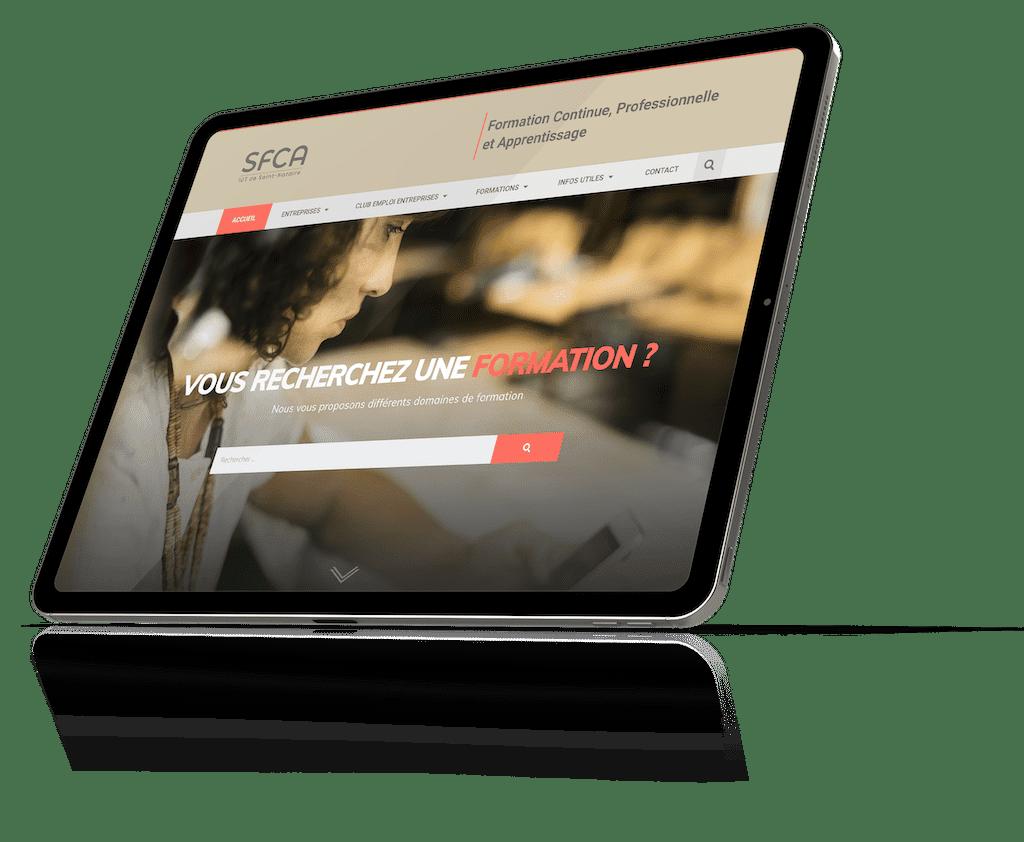 tablette-sfca-iut-saint-nazaire-design975-createur-site-internet-savenay-saint-nazaire-labaule-guerande