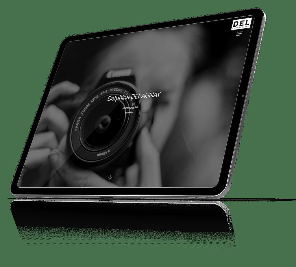 tablette-delphine-delaunay-photographe-design975-creation-site-internet-savenay-saint-nazaire-labaule-guerande