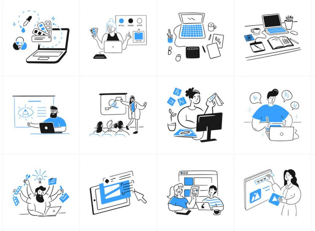Brooklyn – 1100 illustrations vectorielles pour vos futurs projets