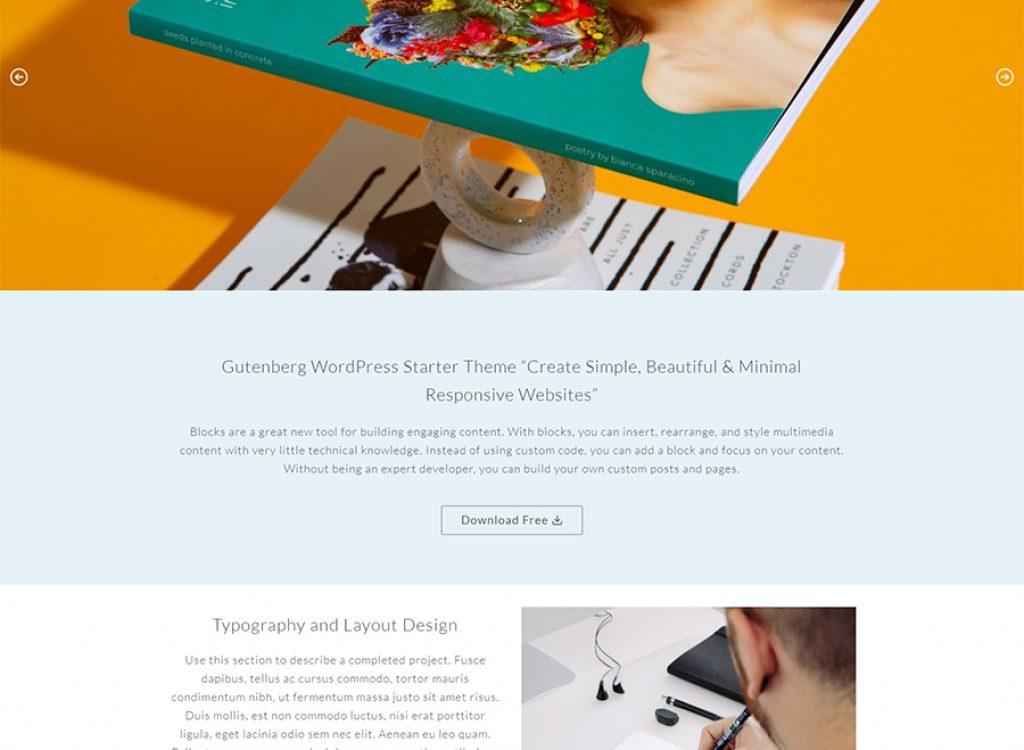 Les meilleurs thèmes minimalistes WordPress Gutenberg