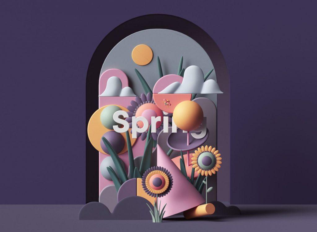 Les illustrations 3D tendances de Peter Tarka